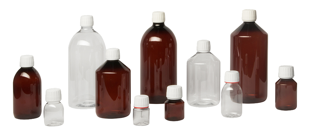 Header Pharma PET Bottles